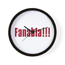 Fanabla Wall Clock