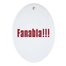 Fanabla Oval Ornament
