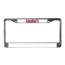 Fanabla License Plate Frame