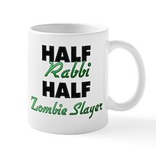 Half Rabbi Half Zombie Slayer Mugs
