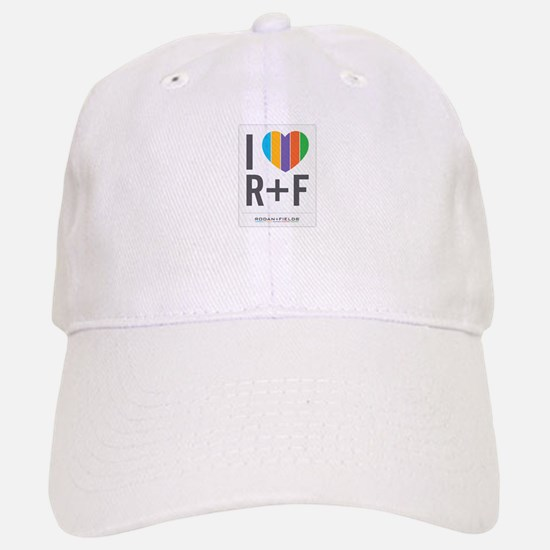 I love RF Baseball Baseball Baseball Cap