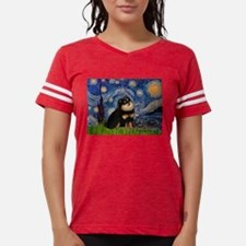 Starry Night / Pomeranian(b&t) T-Shirt