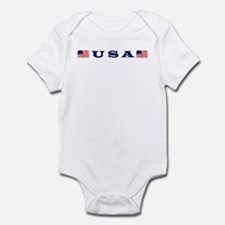 USA Wear Infant Bodysuit