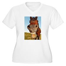 Funny Horse Plus Size T-Shirt
