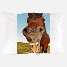 Funny Horse Pillow Case