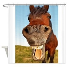 Funny Horse Shower Curtain