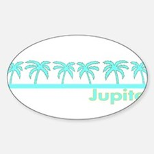 Jupiter, Florida Oval Decal