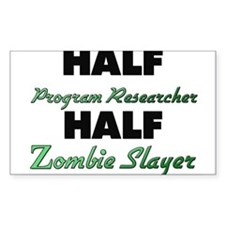 Half Program Researcher Half Zombie Slayer Decal