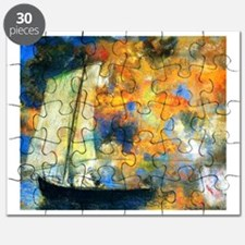 Flower Clouds Puzzle