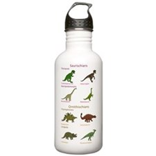 Dinosaur Classificatio Water Bottle