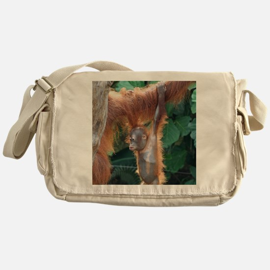 OrangUtan004 Messenger Bag