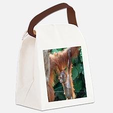 OrangUtan004 Canvas Lunch Bag