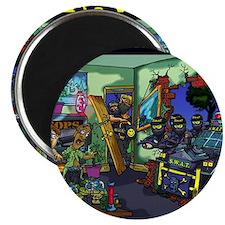swat team drug raid Magnet