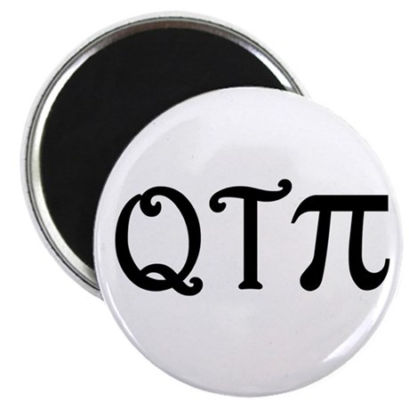 "Q-T-Pi 2.25"" Magnet (100 pack)"