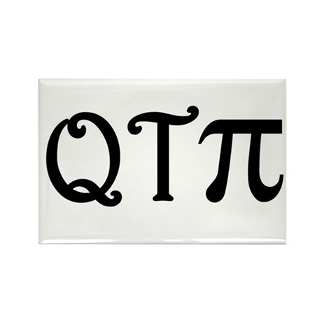 Q-T-Pi Rectangle Magnet (100 pack)