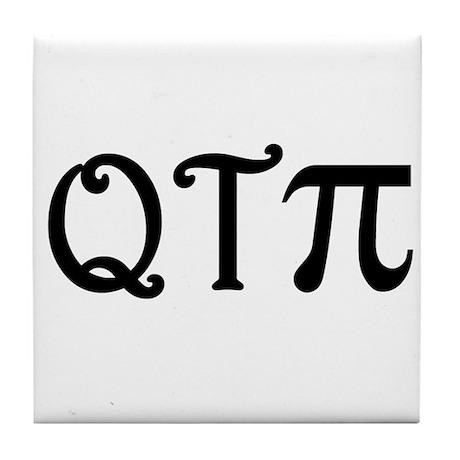 Q-T-Pi Tile Coaster