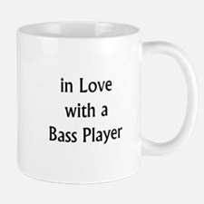 in love with bass Mugs