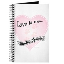 Love is my Clumber Spaniel Journal