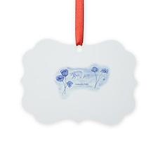 Icelandic Poppy Ornament