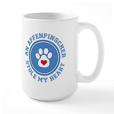 Affenpinscher/My Heart Mug