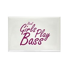 real girls play bass Magnets