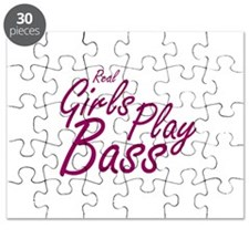 real girls play bass Puzzle