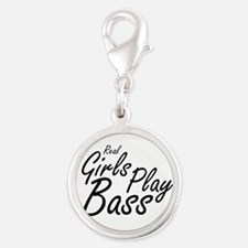 real girls play bass black Charms