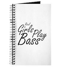 real girls play bass black Journal
