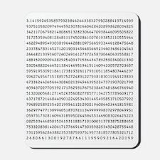 Pi to 1000 Digits Mousepad