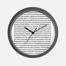 Pi to 1000 Digits Wall Clock