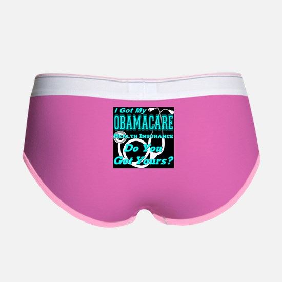 I Got My Obamacare Women's Boy Brief