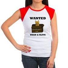 Schrodinger's Cat Women's Cap Sleeve T-Shirt