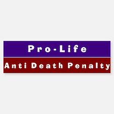 Anti-Death Penalty Bumper Car Car Sticker