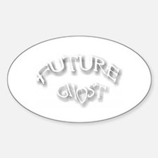 Future Ghost Oval Decal
