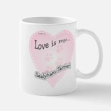 Love is my Sealyham Terrier Mug