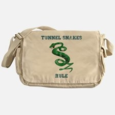 Tunnel Snakes Rule! Messenger Bag