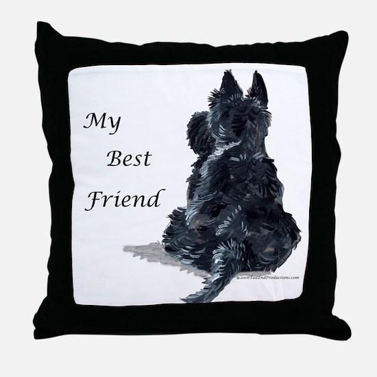 Scottish Terrier AKC Throw Pillow