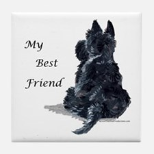 Scottish Terrier AKC Tile Coaster