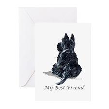 Scottish Terrier AKC Greeting Cards (Pk of 10)