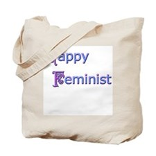 Happy Feminist Tote Bag