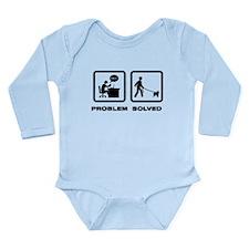Affenpinscher Long Sleeve Infant Bodysuit