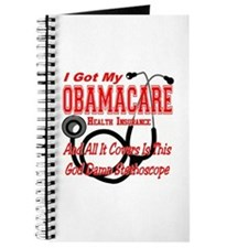 Obamacare Covers Only God Damn Stethoscope Journal