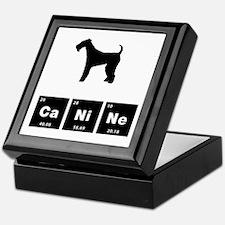 Airdale Terrier Keepsake Box