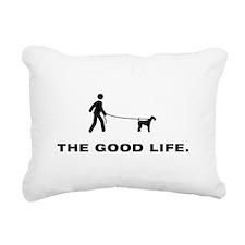 Airdale Terrier Rectangular Canvas Pillow