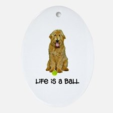 Goldendoodle Life Ornament (Oval)