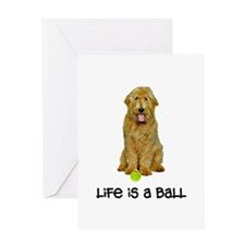 Goldendoodle Life Greeting Card