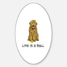 Goldendoodle Life Sticker (Oval)