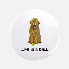 "Goldendoodle Life 3.5"" Button"