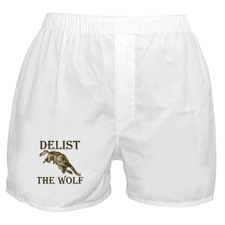DELIST THE WOLF Boxer Shorts