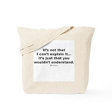 Cute Professional chemical engineer Tote Bag
